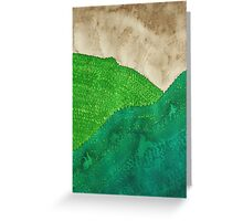 Highland Storm original painting Greeting Card