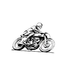 Norton Vintage Motorcycle Photographic Print