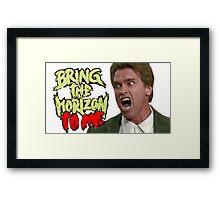Bring Arnie the Horizon Framed Print
