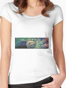 Feuilleton - Endless story Women's Fitted Scoop T-Shirt