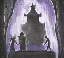 The Nightingale and The Emperor by Nina Zabrodina