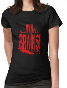 MMM BRAINS Womens Fitted T-Shirt