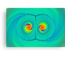 Psychedelic Eyes Canvas Print