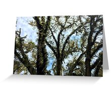 Pouring Moss Greeting Card