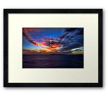 Sunset Over the Coronado Islands Framed Print