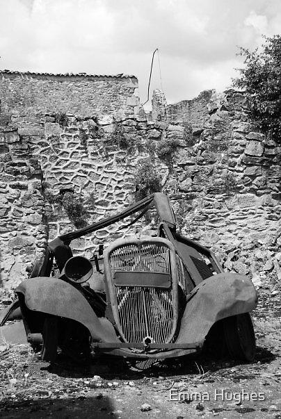 Car remains by Emma Hughes