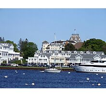 A View from Napatree Point - Bay Street  Watch Hill 2015 ~ 3 Photographic Print