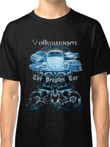 Volkswagen Tee Shirt: People's Car - Blue Classic T-Shirt