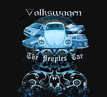Volkswagen Tee Shirt: People's Car - Blue Unisex T-Shirt