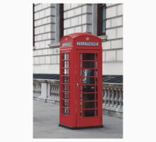 London phone box Kids Clothes