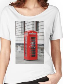London phone box Women's Relaxed Fit T-Shirt