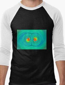 Psychedelic Eyes Men's Baseball ¾ T-Shirt