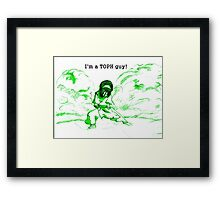 Avatar the Last Airbender - Toph Framed Print