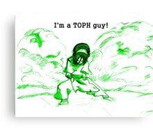 Avatar the Last Airbender - Toph Canvas Print