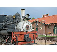 Royal Gorge Train and Depot  Photographic Print
