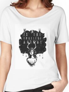 True Detective fan art Women's Relaxed Fit T-Shirt