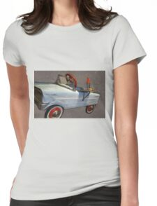 Drive In Pedal Car Womens Fitted T-Shirt