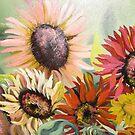 Sunflowers by JeffeeArt4u
