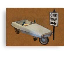 Probe Pedal Car Canvas Print