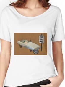 Probe Pedal Car Women's Relaxed Fit T-Shirt