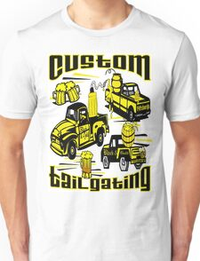 [Black & Gold] Custom Tailgating Unisex T-Shirt