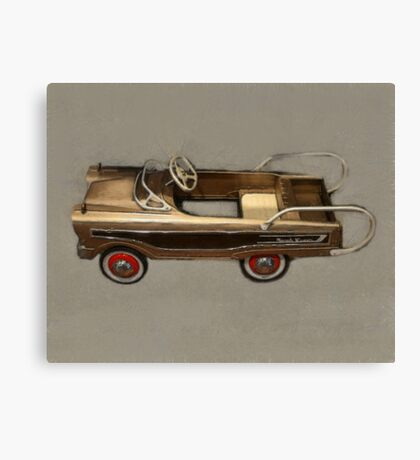 Ranch Wagon Pedal Car Canvas Print
