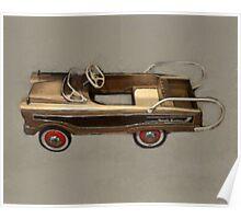 Ranch Wagon Pedal Car Poster