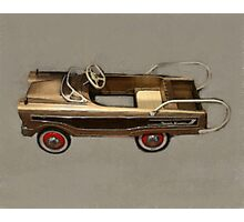 Ranch Wagon Pedal Car Photographic Print