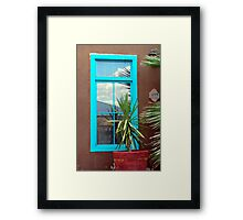 Neighborhood Seen Framed Print