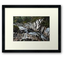 Streaming Water Framed Print