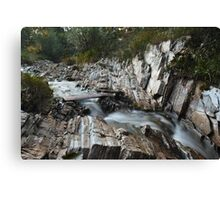 Streaming Water Canvas Print