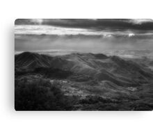 Clouds Over Pauma Valley Canvas Print