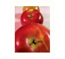 Are All Your Apples In A Row? Art Print