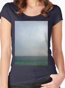 Blue Horizon Women's Fitted Scoop T-Shirt