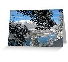 Lake Dillon in Snow Greeting Card