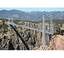 Royal Gorge Bridge in Summer  Photographic Print