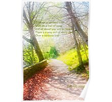 Walk in beauty Poster
