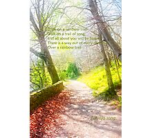 Walk in beauty Photographic Print