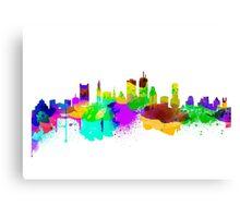 Boston USA Skyline Canvas Print