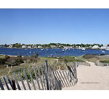 A View from Napatree Point - Bay in Watch Hill 2015 ` 3 Photographic Print