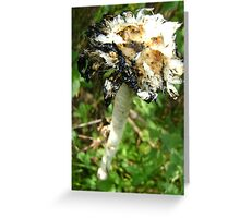 inky end Greeting Card