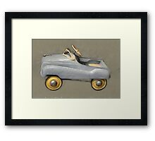 Antique Pedal Car Framed Print