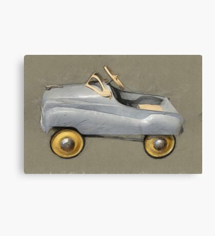 Antique Pedal Car Canvas Print