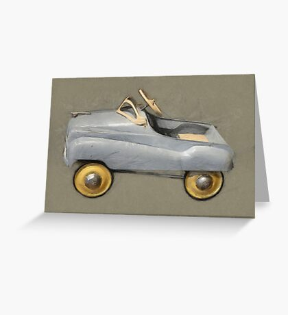 Antique Pedal Car Greeting Card