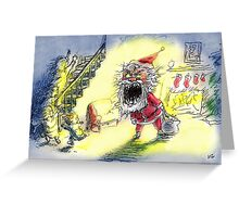 Devil Santa Greeting Card