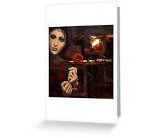 Touching the ephemeral...(2) Greeting Card