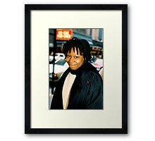 Whoopi On Broadway NYC Framed Print