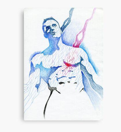 Color mr muscle Canvas Print