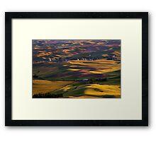 Steptoe Sunset Framed Print