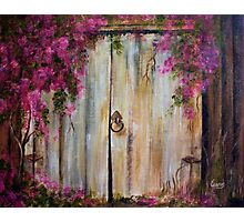 Door to my Garden in Acrylic Photographic Print